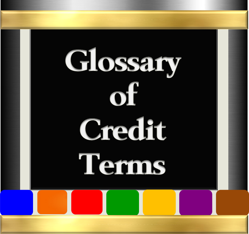 Glossary of Credit Terms - Version 2